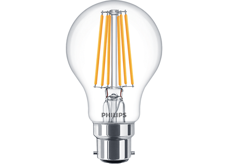 CLA LEDBulb ND 8-75W B22 WW A60 CL