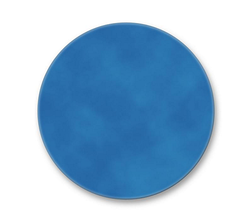 "4 3/4"" Dichroic Color Filter Primary Blue"
