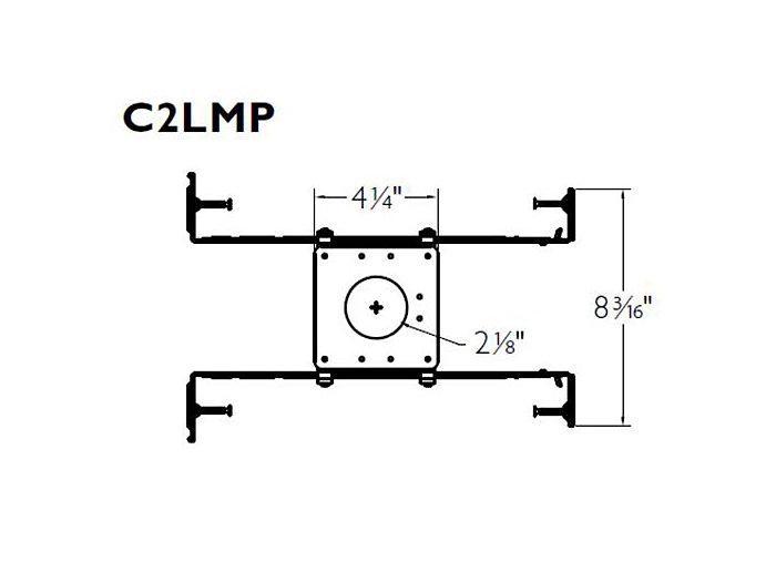 1.75'' LED Mounting Pan