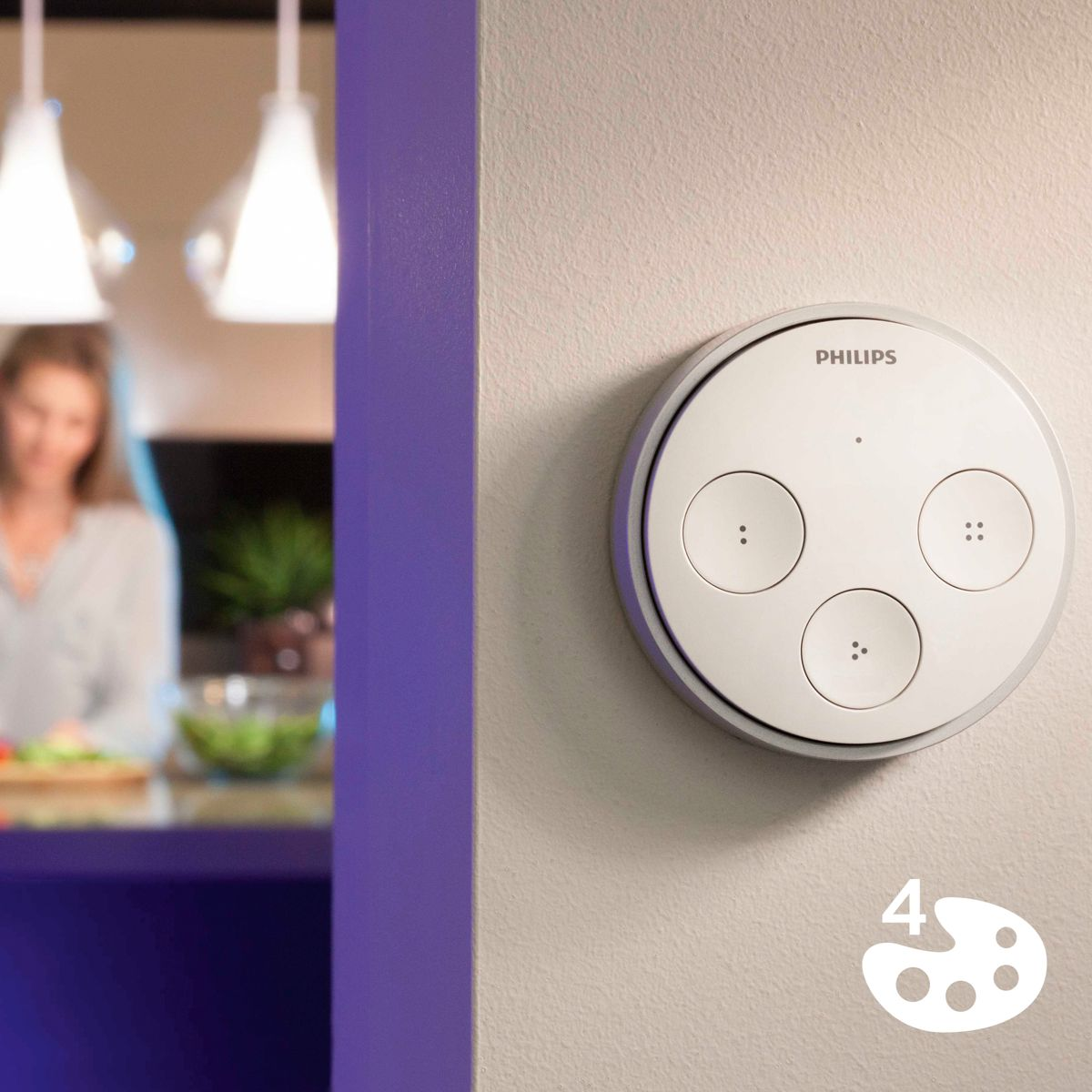 Recall your favourite Philips Hue scenes