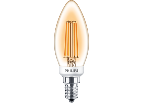 CLA LEDCandle D 5-35W E14 GOLD B35 CL