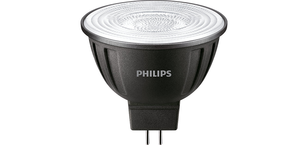Strong performance spot light for retrofit MR16 halogen spots