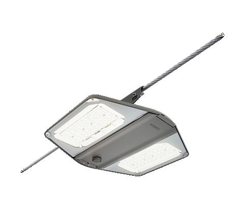 BTP764 LWFP LED64-4S/740 DSW1 CTGO-DGR S