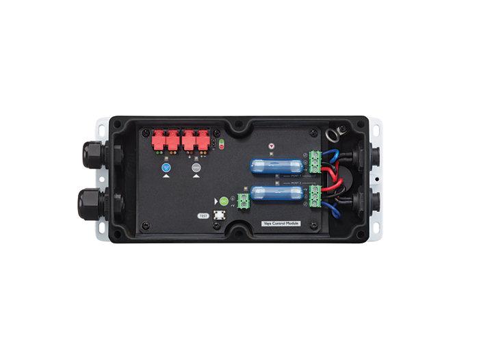 Les connecteurs à blocage automatique étanches par simple pression rendent l'installation rapide et facile