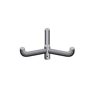 FX1 and FX2 Accessories, Triple Mount Bullhorn @ 120 (FX1-RSB-3-120)