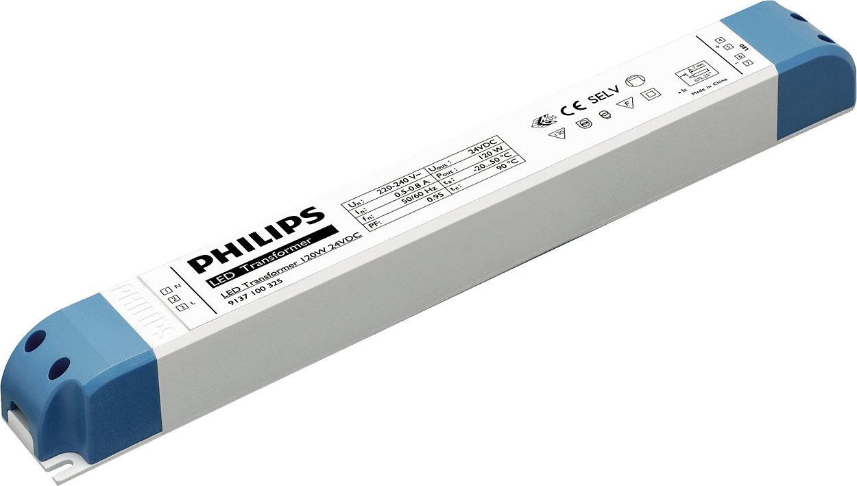 Biến thế điện tử cho ứng dụng LED điện áp thấp