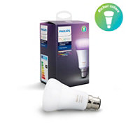 Hue White and colour ambience Single bulb B22