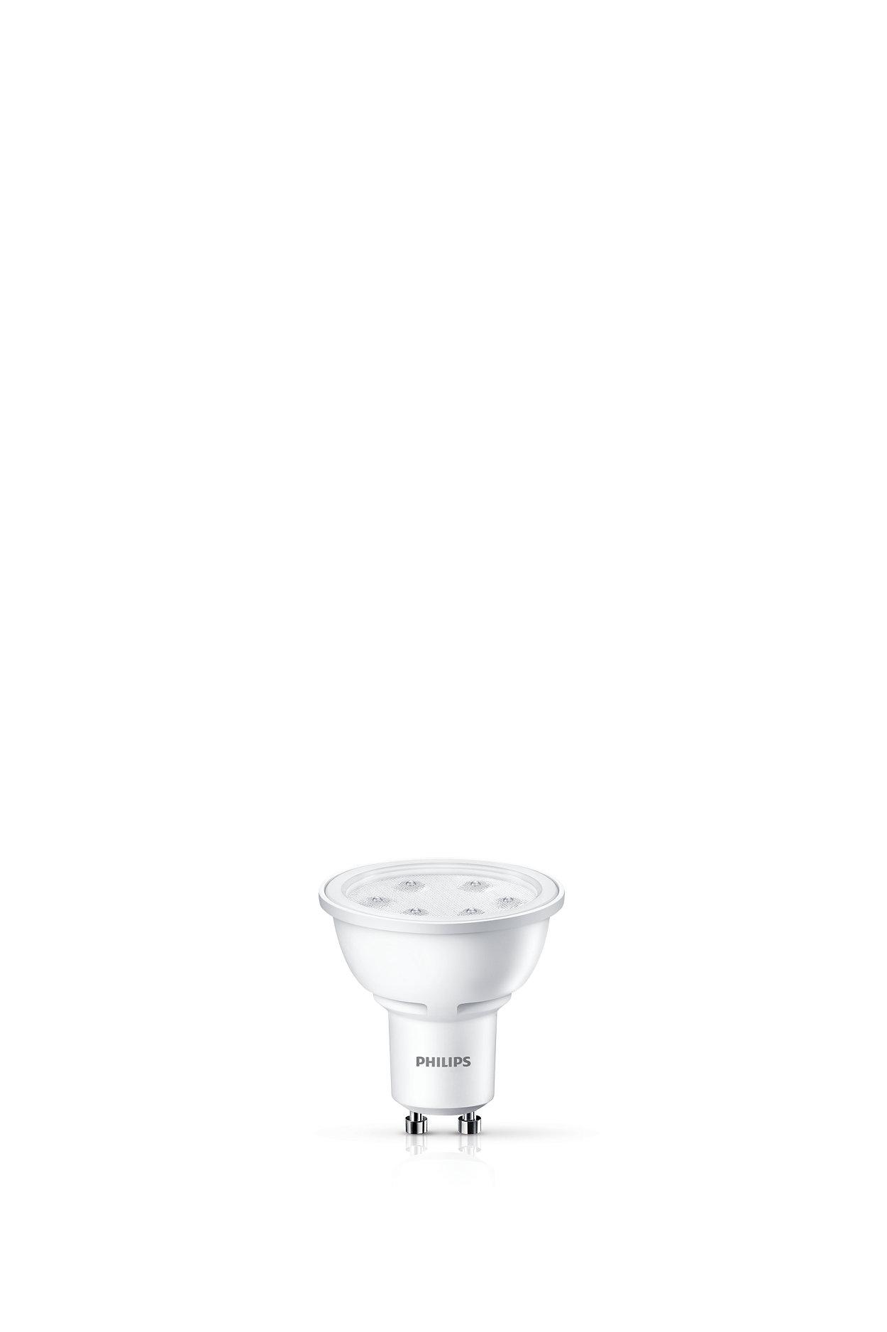 Iluminación de acento duradera con un haz brillante enfocado