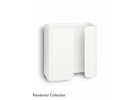Novum wall lamp white 1x4.5W SELV