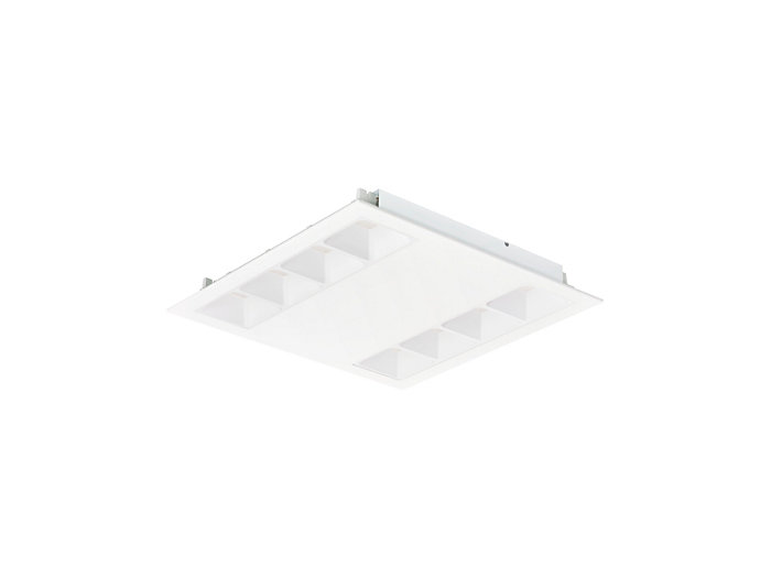 PowerBalance gen2 RC360B recessed luminaire, square version