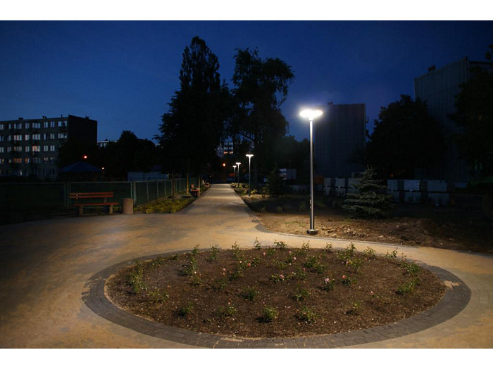 TownGuide LED Flat Cone Post Top (PBDP100)