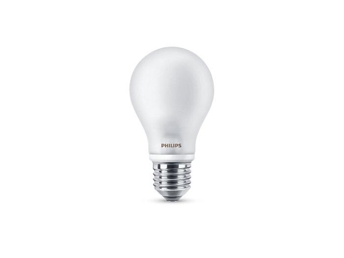 LED Lamps, Clasic LED lamps A60 E27 FR
