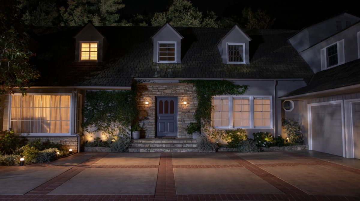 Make it look like you're at home with smart lights