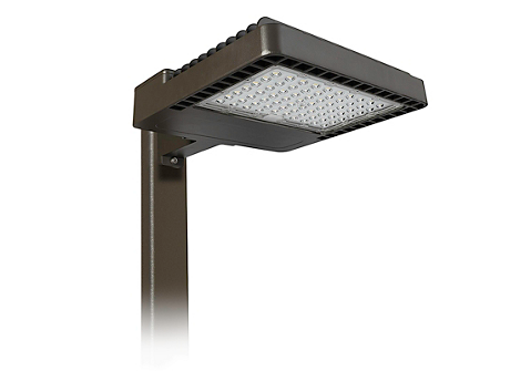Area Light, 200W, 4000K, Type 4, 347V, Arm Mount, Bronze