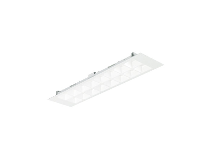 PowerBalance Tunable White RC466B recessed luminaire, rectangular version (module size 625)