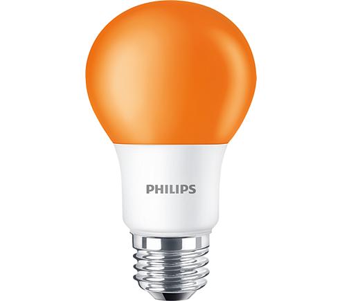 BC8A19/LED/ORANGE/ND 120V 6/1