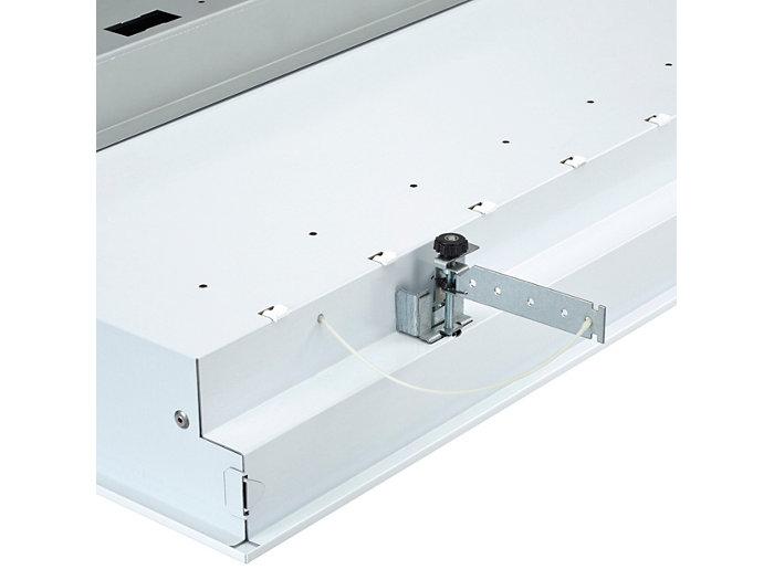 Voidaan asentaa peitettyyn kattoristikkoon (CPC) tai kipsilevykattoon (PCV)