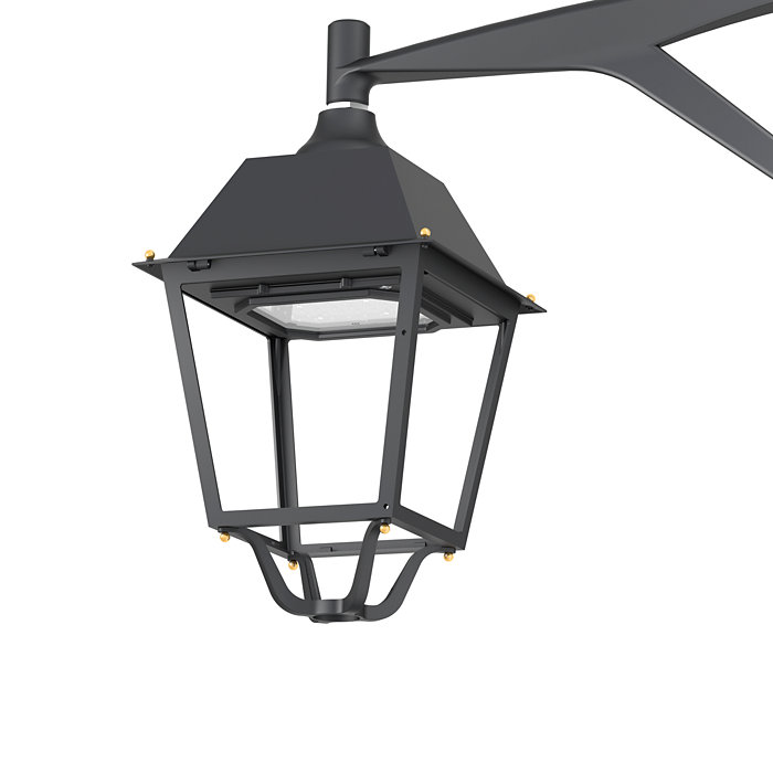Iconic Iberian four-sided luminaire