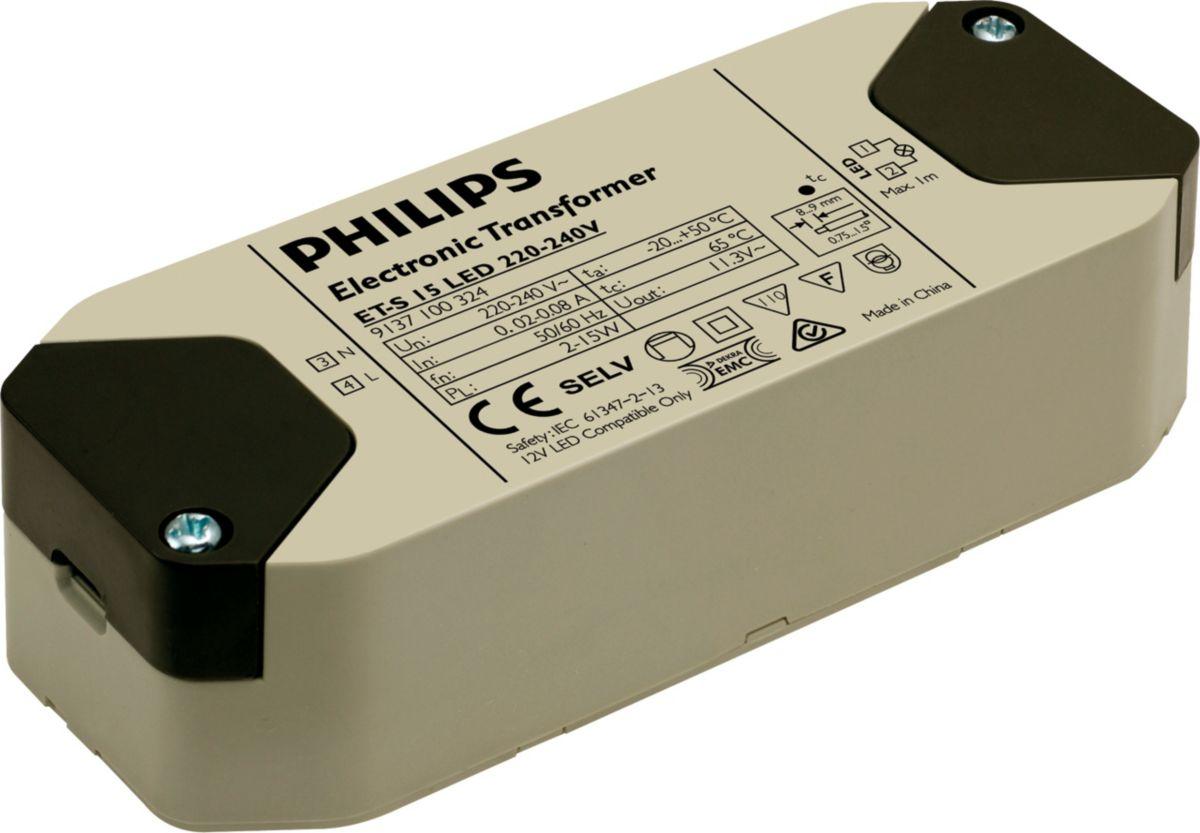 Phillips Power Converter Wiring Diagram Explained Diagrams Magnetek 7345 Et S 15 Led 220 240v Transformer Philips Lighting Switch