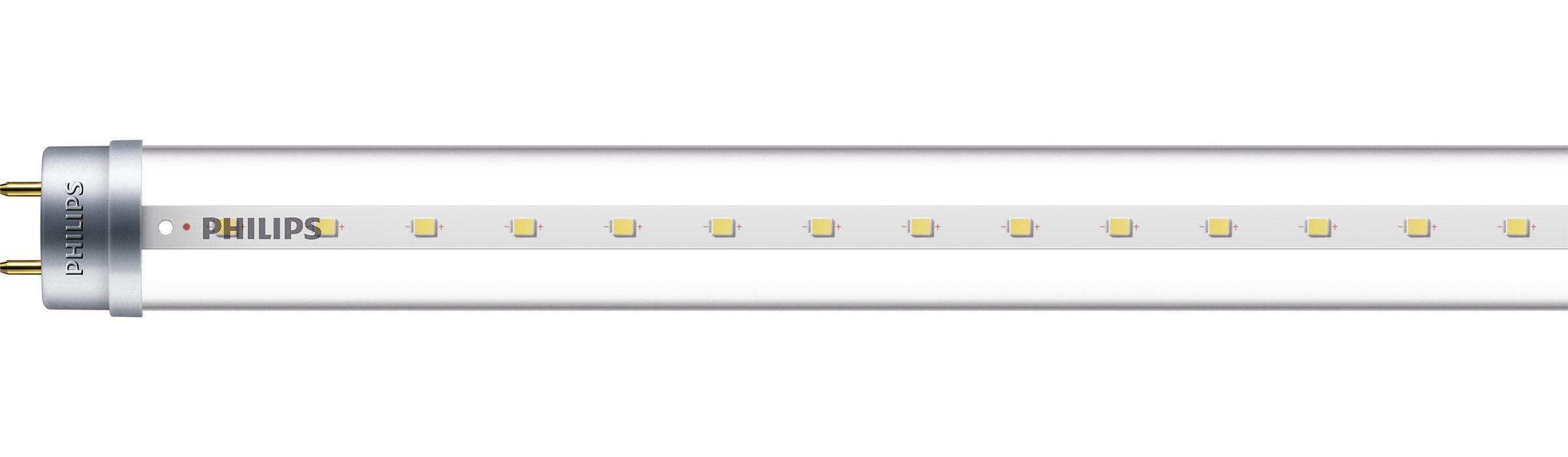 The affordable LEDTube T8 solution