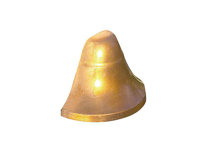 Deck Light, Copper, Bell-Shape, 10W T3, 12V