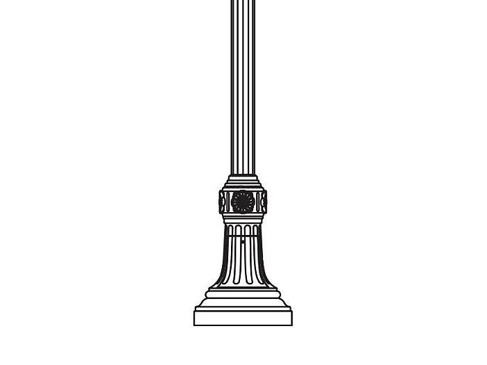 Anchor Base Post (783-)
