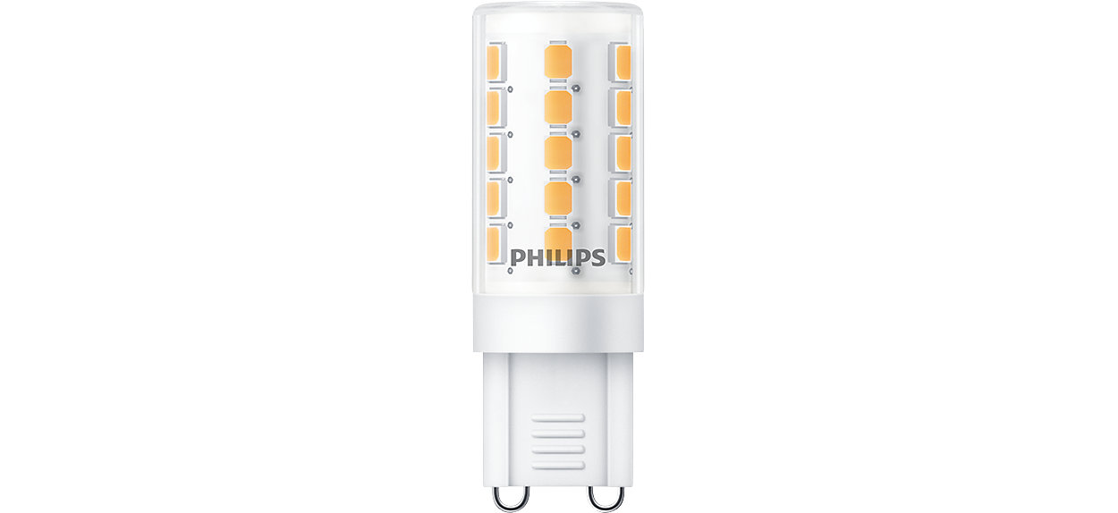 Mains-voltage LED specialty product with huge energy saving and high light output