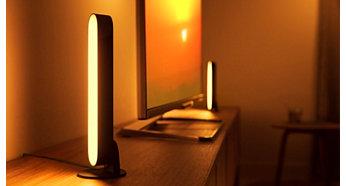 Ühendage kolm Hue Play valgustit ühe pistikupesaga