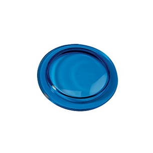 ICE BLUE TEMPERED LENS