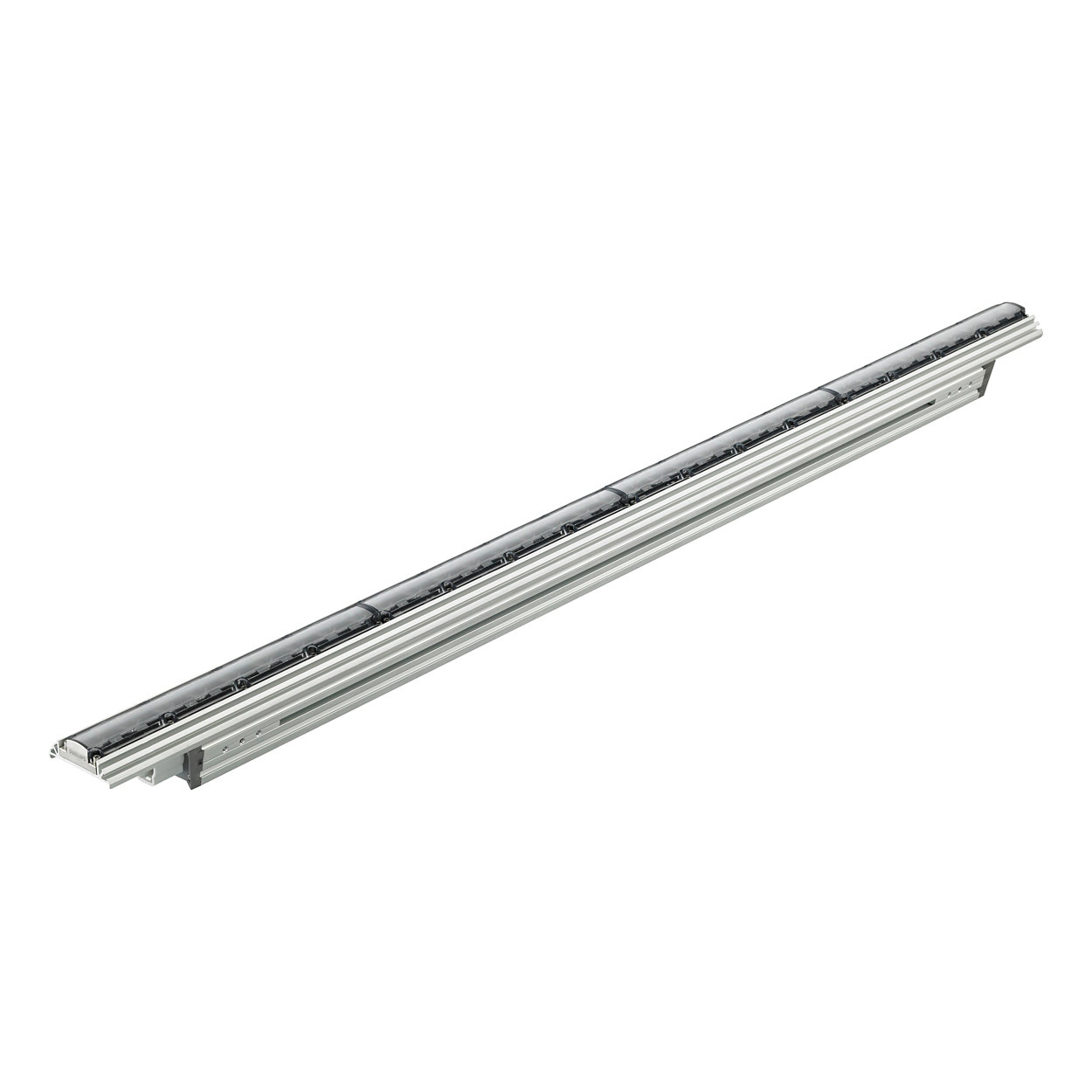 ColorGraze QLX Powercore - Performance linear exterior LED wall grazing luminaires with RGB light
