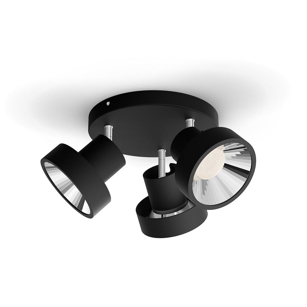 En lampa. Din strömbrytare. Tre ljusinställningar.