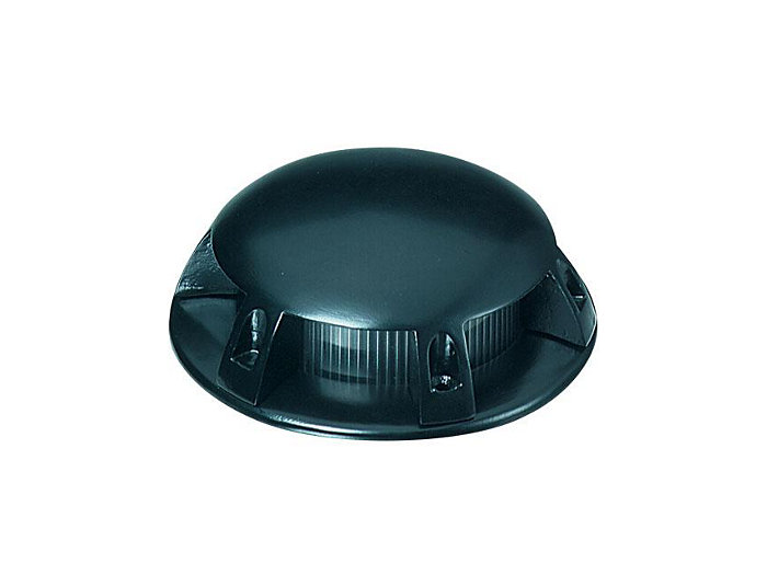 Beacon, Composite Semi Recessed, Black, 20W T3, 12V