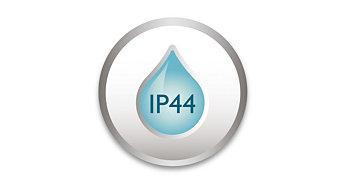 IP 44, ontworpen voor buitengebruik