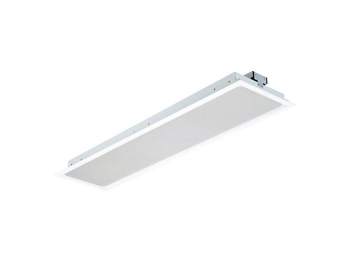 SmartBalance, Langfeld LED-Einbauleuchte für Gipskartondecken und Deckensysteme mit verdeckten Tragprofilen, Modul 312,5 x 1250, RC482B PCV / CPC