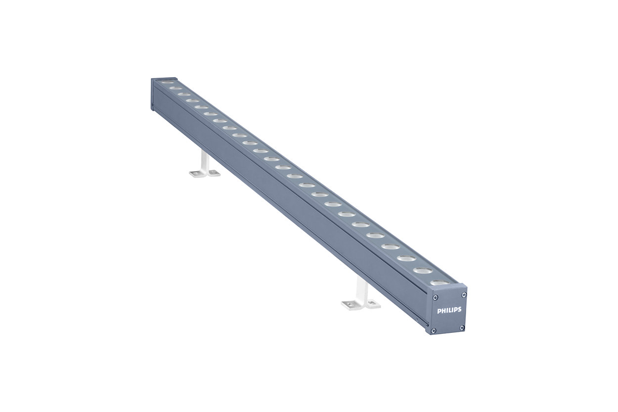 UniStrip G4 - 頂級線性 LED 表面安裝燈具,滿足外部固定、動態建築照明應用需求