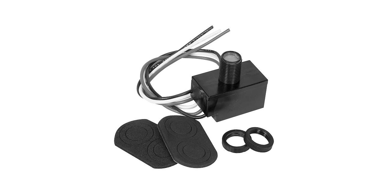 120 Volt Button-eye Photocell - additional energy savings