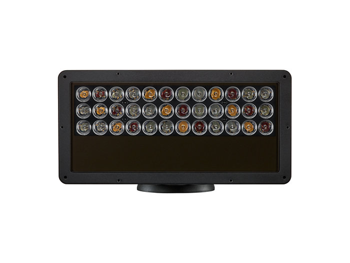 ColorBlast RGBA Powercore gen4 four channel LED fixture front view