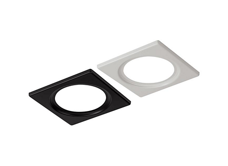 "Lytepoints 3 3/4"" Square Face Plate White"