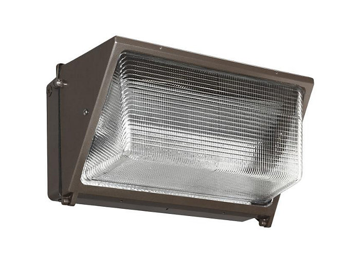 PS, 250W, 120-277V, w/Lamp, Wall-Pack, Bronze
