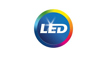LED integrado, como parte del sistema
