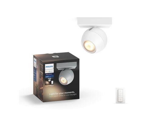 Hue White ambiance Buckram 1-lichts spotbalk