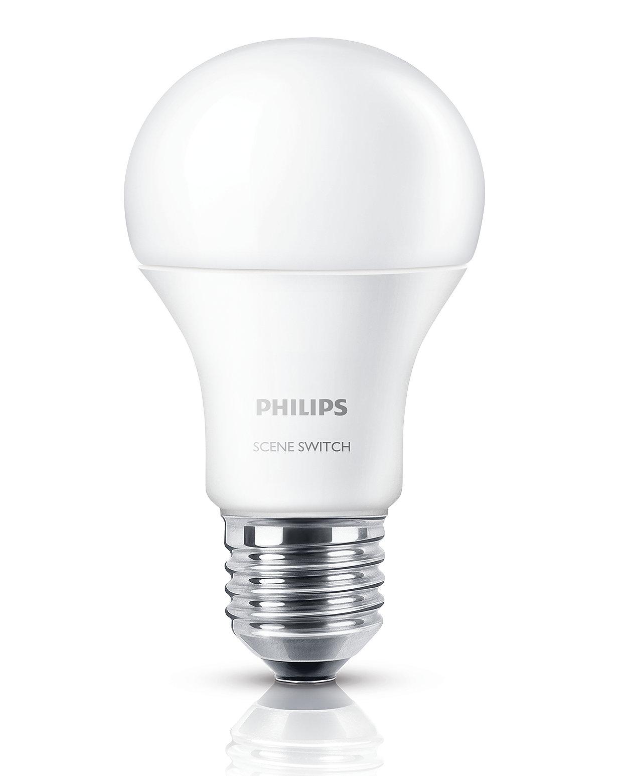 一個燈泡,三種照明設定
