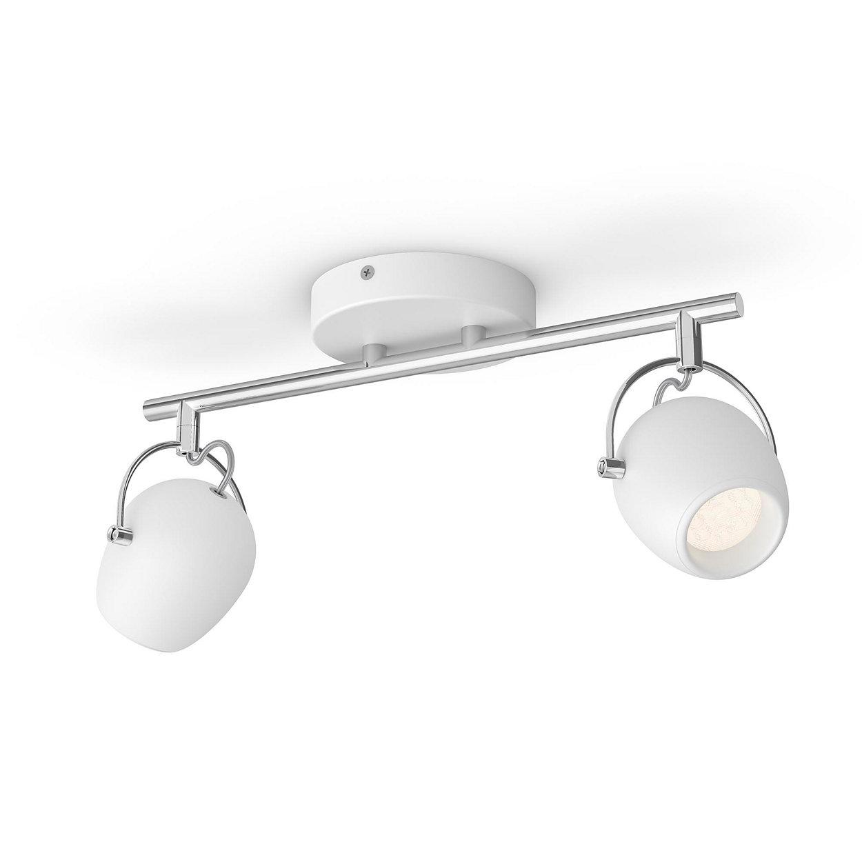 Iluminación LED confortante que no molestará sus ojos.