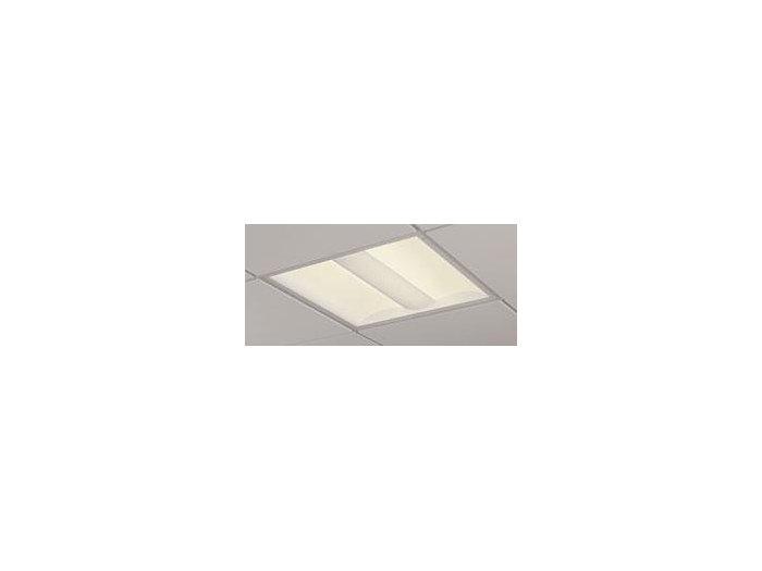 2x2, 3800 Nominal Delivered Lumens, 80 CRI, 4000K, Round Perf. w/White Overlay
