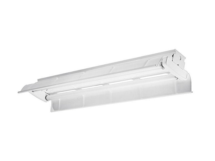 8' (Tandem), 4 Lamp F32T8, Painted Polyester Reflector, 10% Uplight
