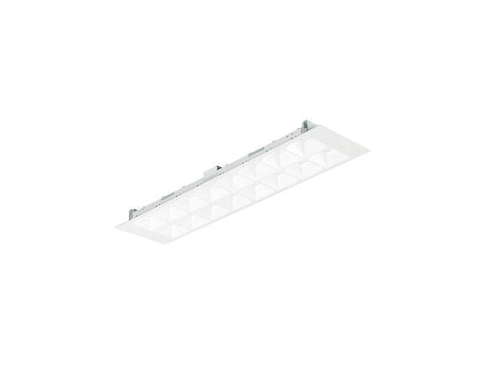 PowerBalance Tunable White RC464B recessed luminaire, rectangular version (module size 600)