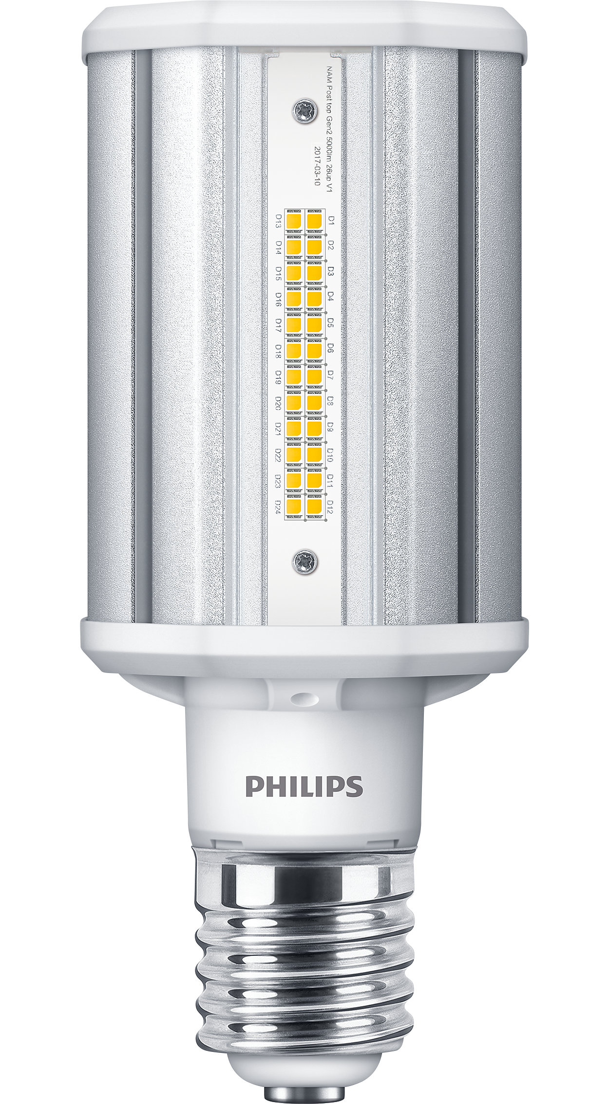 The best LED solution for Post-Top High-Intensity Discharge (HID) lamp replacement with low initial investment
