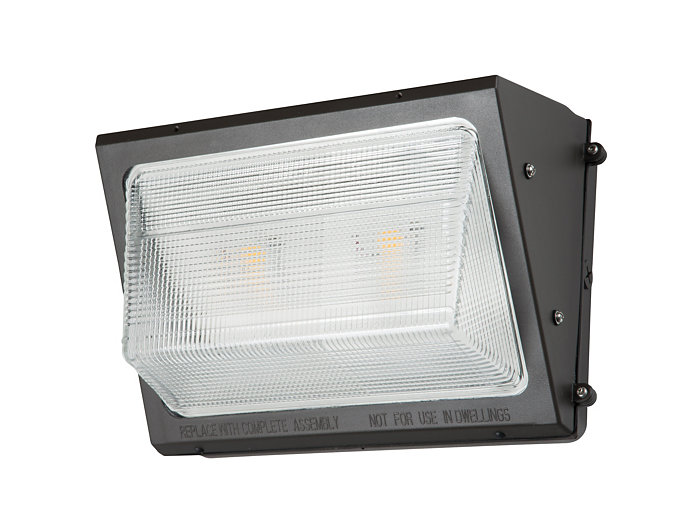 WP, LED, 75W, 4000K, 70 CRI, 120-277V, Bronze