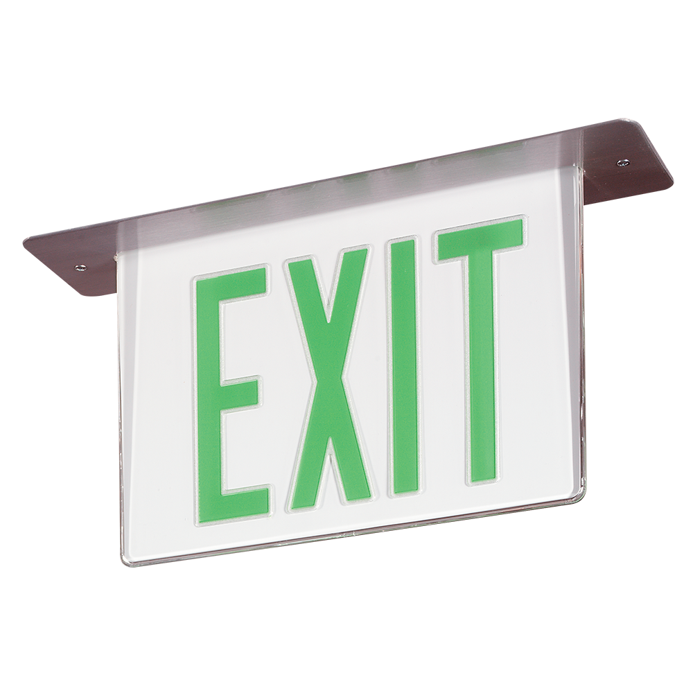45v Series Edge Lit Exit Exit Signs Signify