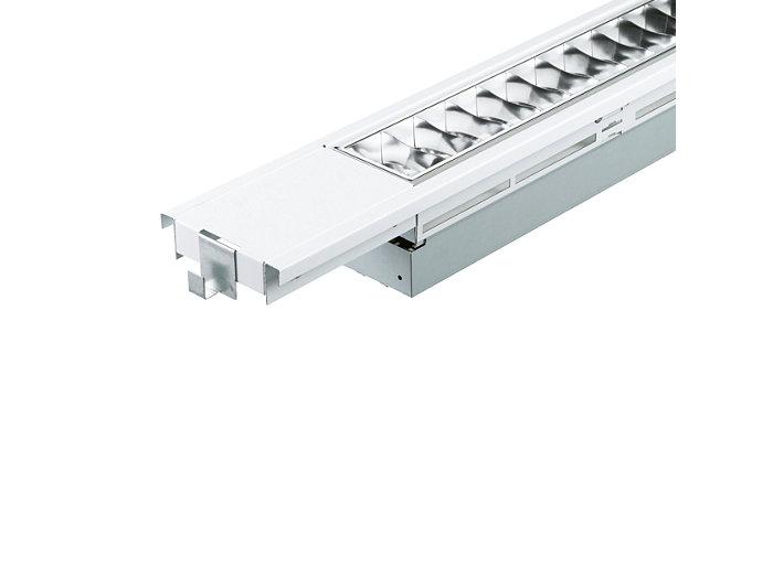 SmartForm TBS411 recessed semi-modular luminaire, extended version
